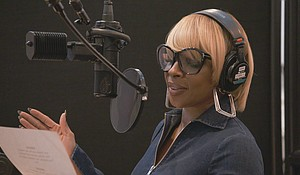 Mary J. Blige in her first animated film role