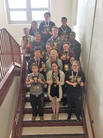 The Joliet West High School Mathletes attended two math competitions in the past two weeks and finished very strong.