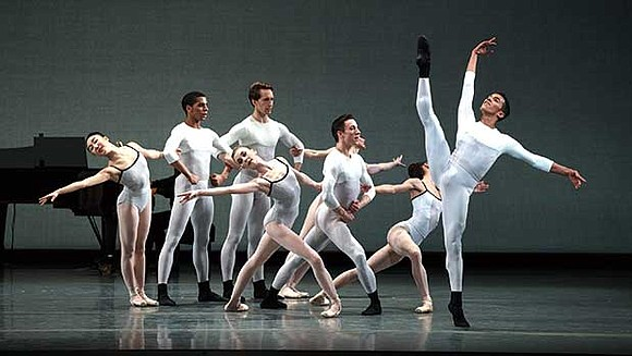 """Boston Ballet opened its spring season with """"Parts in Suite,"""" a trio of works by living choreographers who are in ..."""