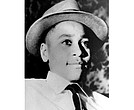 "This undated photo shows Emmett Louis Till, a black 14-year-old Chicago boy, who was kidnapped, tortured and murdered in 1955 after he allegedly whistled at a white woman in Mississippi. Photos of his tortured body propelled the civil rights effort and is the subject of an NBC documentary """"Hope & Fury."" (AP Photo, File)"
