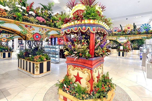 Beginning Sunday, March 25, 2018, to April 8, 2018, Macy's Herald Square will open their annual Flower Show at their ...