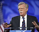 In this Feb. 24, 2017, file photo, former U.S. Ambassador to the U.N. John Bolton speaks at the Conservative Political Action Conference (CPAC) in Oxon Hill, Md. President Donald Trump is replacing National security adviser H.R. McMaster with Bolton. (AP Photo/Alex Brandon, File)