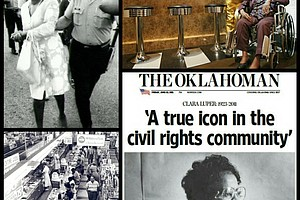 Civil Rights Leader and Activist Clara Luper (photo via blackthen.com)