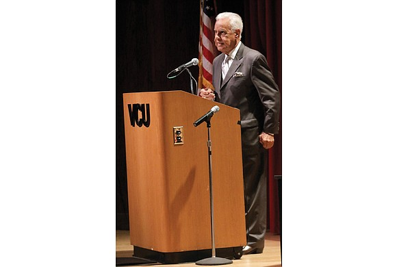 He may be 86, but former Gov. L. Douglas Wilder is showing Virginia Commonwealth University he is not to be ...