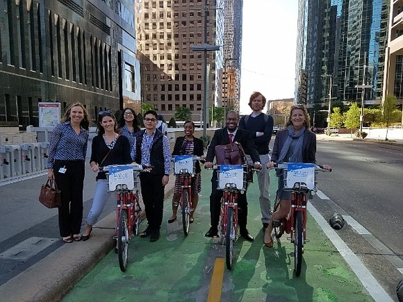 Marking the first anniversary of the City Bicycle Master Plan's adoption by City Council, Mayor Sylvester Turner is spotlighting several ...