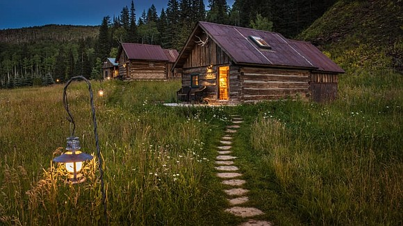Ghost towns don't sound like relaxing destinations to escape from it all, but in the mountains of southwest Colorado, a ...