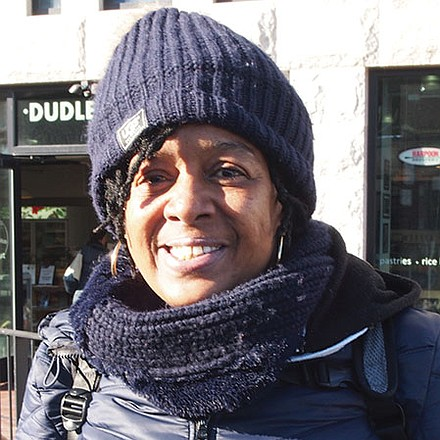 Oh hell no. He's not fit to be president. He won't last.—Michelle Ambers, Disabled, Roxbury