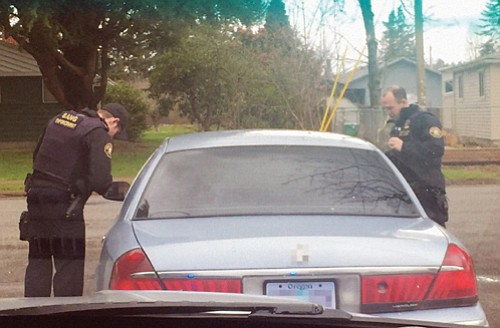 Portland police gang enforcement carried out traffic stops that disproportionately affected black residents.