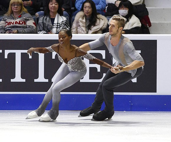 It has been a long and challenging skating season, but French pair skaters Vanessa James and Morgan Ciprès finished on ...