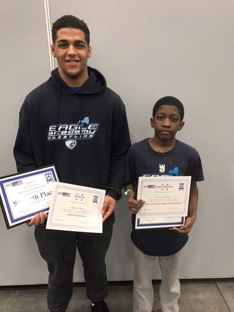 High School senior Jayson Gomez and seventh-grader Cameron Mayfield, both of Eagle Academy in the Bronx, earned prestigious All-American and ...