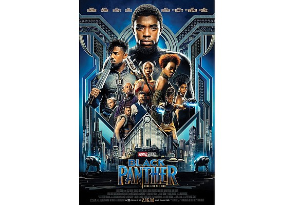 "The box office hit ""Black Panther"" is now the top grossing superhero film of all time in the United States. ..."