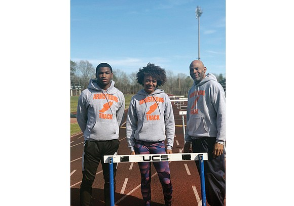 As a teenage athlete, Valentino Robinson ranked with top high hurdlers in Virginia. Now as coach, he faces a different ...