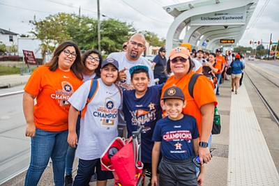 METRO is ready to welcome a sea of orange and blue as Houston Astros fans head downtown for the World ...