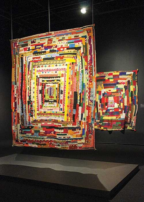 """""""Soulful Stitching"""" on view at the Davis Museum in Wellesley through June 10, highlights an often forgotten area of the ..."""