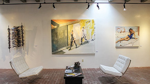 In Santa Fe, New Mexico, there's more art than air, and it's equally life sustaining. Original artwork hangs on the ...