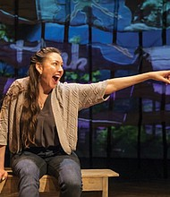 """Cherokee performance artist DeLanna Studi returns to The Armory with """"And So We Walked,"""" her powerful and inspiring story of retracing the 900-mile Trail of Tears with her father."""