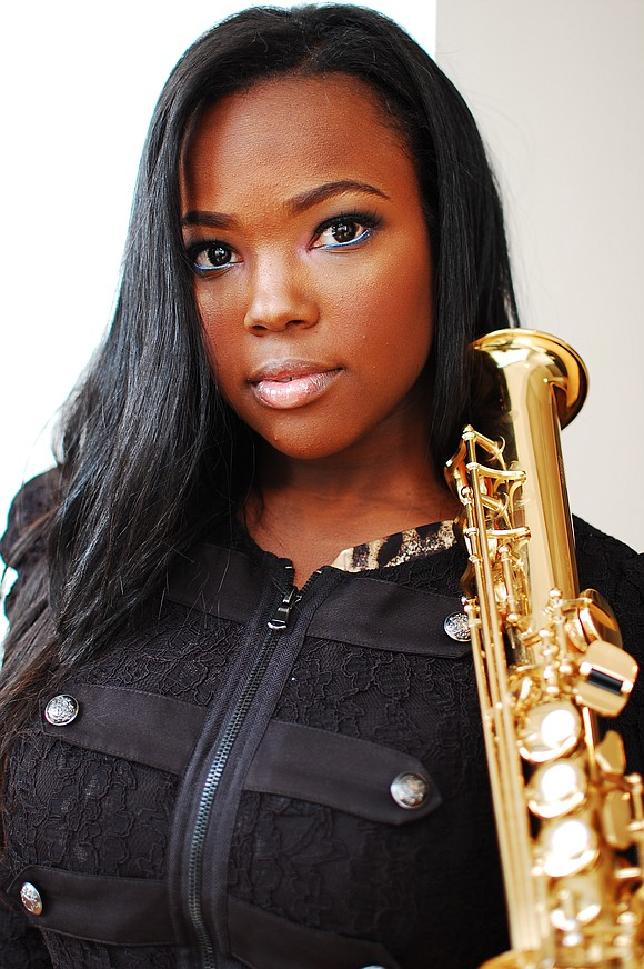 Camille Thurman was the second place winner of the Sarah Vaughan Vocal Competition, but the rising composer, tenor saxophonist and ...