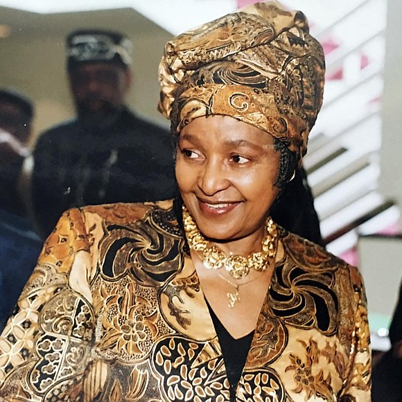 """I am a living symbol of whatever is happening in my country,"" Winnie Madikizela-Mandela wrote in ""Part of My Soul ..."