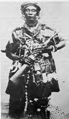 Queen-mother Yaa Asantewaa led the fight against British colonialism