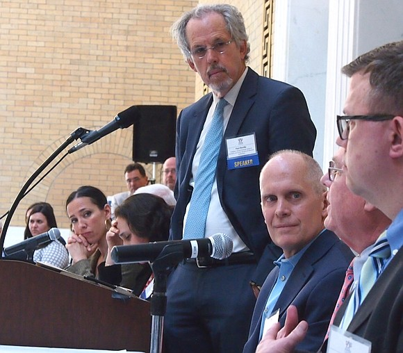 State officials and education leaders gathered at the State House last Thursday to mark the 25 years since Massachusetts passed ...