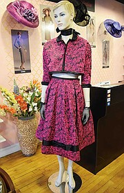 Luna Joachim Collection designs on display at L'Accent boutique.