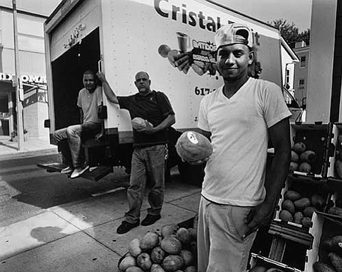 Through the end of April, Boston photographer Robin Radin displays landscape and street scenes of Jamaica Plain in state Rep. ...