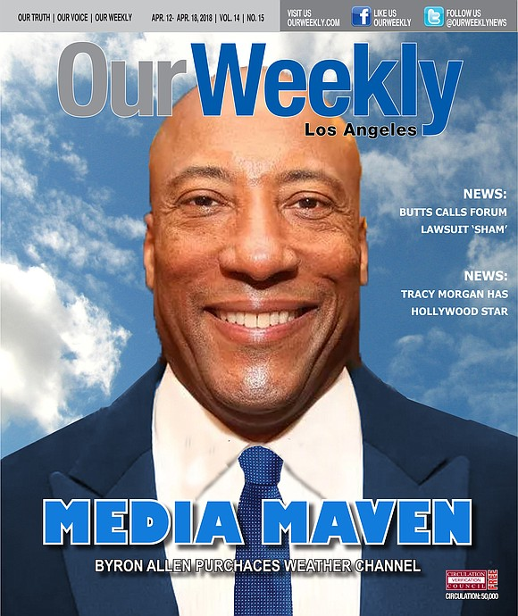Byron Allen recently made the news for two reasons: he bought the Weather..