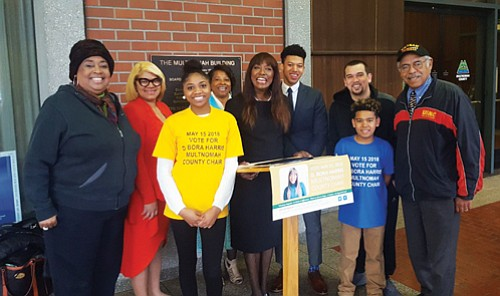 Championing the causes of the elderly, homeless people, affordable housing, and the interests of children, D. Bora Harris, a business ...