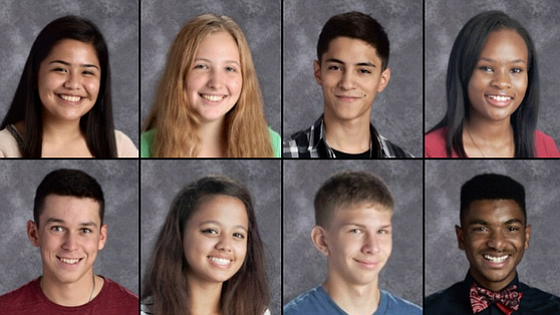 Joliet Township High School Students of the Month for April.
