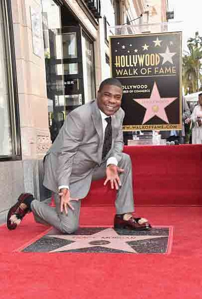 A star on the Hollywood Walk of Fame honoring Tracy Morgan was unveiled this..