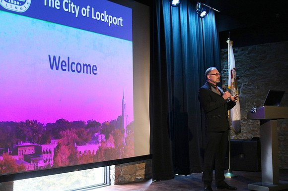 Lockport Mayor Steven Streit highlighted the city's successes over the past year and some of the challenges that lie ahead ...