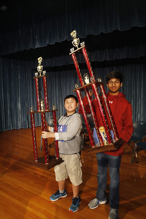 After competing in eight rounds with 51 spellers, Pranav Chemudupaty, a Pearland 8th-grader who attends Nolan Ryan Jr. High in ...