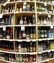 A large international study released on Thursday, April 12, 2018 says adults should average no more than one alcoholic drink per day, and that means many countries' alcohol consumption guidelines may be far too loose. (AP Photo/Rick Bowmer, File)