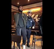 Black man being arrested at Starbucks in Philadelphia