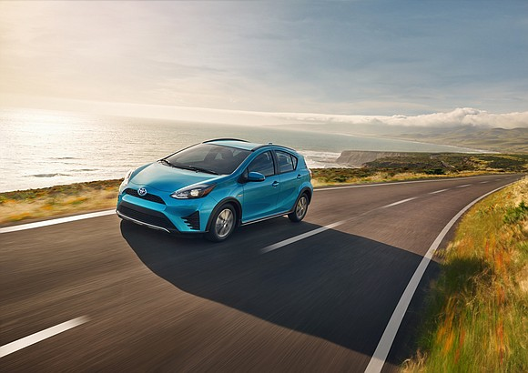 I got a 2018 Toyota Prius C on short notice to come here. The point is that I had to ...