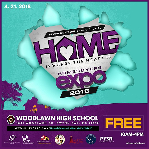 The Women's Challenge, Inc. (TWC) a non-profit focused on enriching lives through empowering and educating, will host a free homebuyer's expo called Home is Where the Heart Is Expo 2018. The expo will be held on Saturday, April 21st from 10 AM to 4 PM at Woodlawn High School.