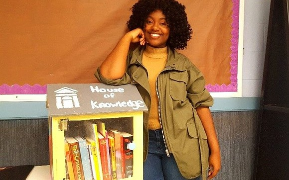 It's National Library Week, and at Spelman College a student is changing lives by improving a community's literacy. Deanna Hayden, ...