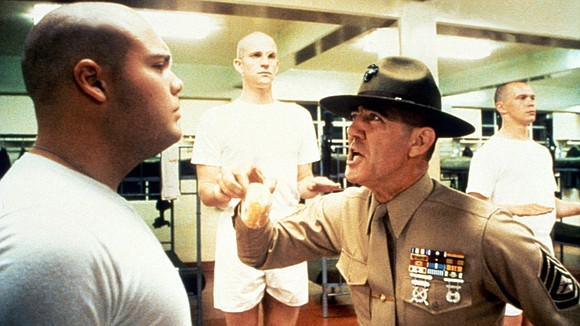 "R. Lee Ermey, the actor known for his Golden Globe-nominated role as an intimidating drill sergeant in ""Full Metal Jacket,"" ..."