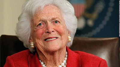 Barbara Bush, the matriarch of a Republican political dynasty and a first lady who elevated the cause of literacy, died ...