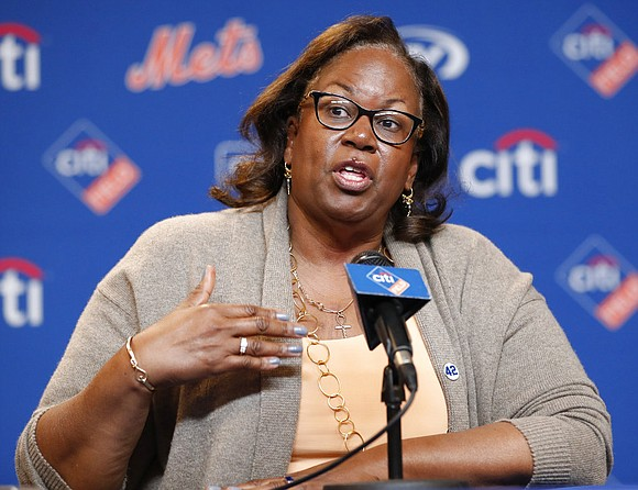 Jackie Robinson's daughter thinks black baseball players are more reluctant to speak publicly about racial issues than their NFL and ...