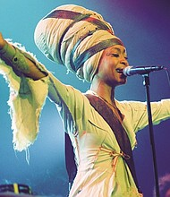 Grammy-winning singer-songwriter Erykah Badu will kickoff Portland's Soul'd Out Music Festival when she performs Wednesday, April 18 at the Arlene Schnitzer Concert Hall. The festival runs through Sunday at venues all over town.
