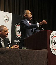 Rev. Al Sharpton and former U.S. Attorney General Eric Holder