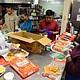 Volunteers prepare food for Meals on Wheels (file photo).