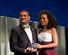 Lehman College President José Luis Cruz and honoree Kerry Washington
