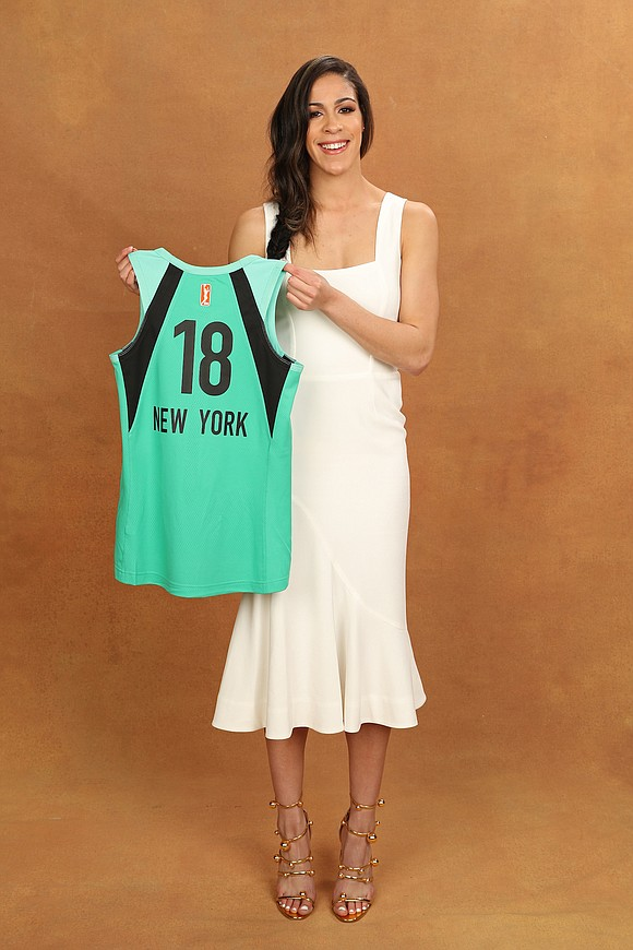 On WNBA Draft day, the New Liberty brought even more University of Connecticut magic to the lineup by selecting 6-foot ...