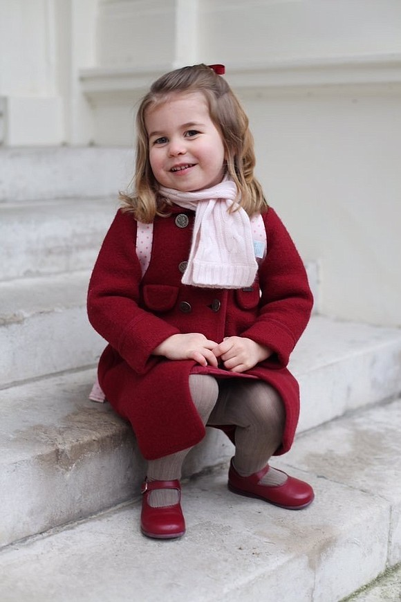 Move over, #RoyalBaby. Princess Charlotte, not even 3, has just made history.