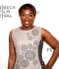 Joy Reid insists that homophobic language in one of her old blog posts is the work of a computer hacker and her security expert said Wednesday they have a strong suspicion of who did it. (Photo by Evan Agostini/Invision/AP, File)