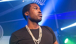 Meek Mill (full name: Robert Rihmeek Williams) is a 30-year-old rapper from Philadelphia. He's best known for his debut LP, 'Dreams and Nightmares.'/Getty Image