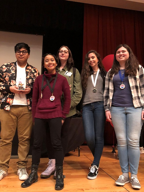 Joliet Central and West High School student's earned top awards at the Southwest Prairie Conference (SPC) Literary Festival on April ...
