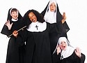 """Kristin Robinson of Portland (center) performs the title role in """"Sister Act,"""" the feel-good musical based on the 1992 smash hit film, coming to the Lakewood Theater Company in Lake Oswego. Opening night is Friday, April 27 with shows running through June 10."""